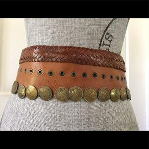 Accessories - Vintage Moroccan coin belt